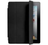 Husa Apple Piele Smart Cover pentru iPad 2, 3, 4 (Neagra)