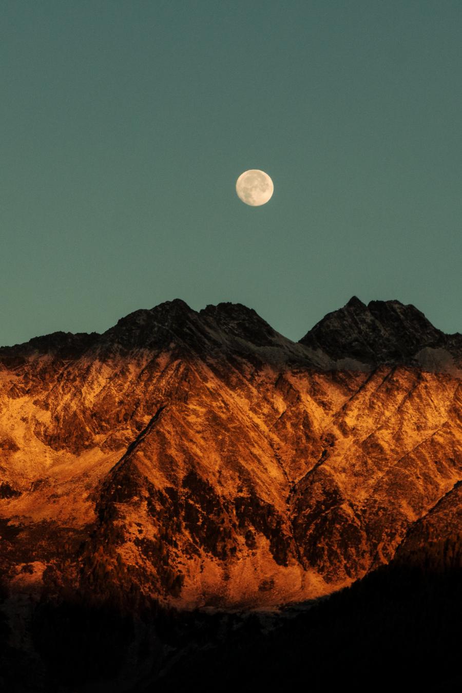 Cele mai frumoase ipostaze ale lunii, in poze superbe - Poza 11