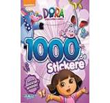 Dora descopera lumea. Carte cu 1000 Stickere