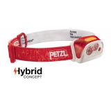 Lanterna frontala Petzl Actik Core Hybrid - Rosu