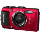 Aparat Foto Digital Olympus Stylus TOUGH TG-4 (Rosu), Filmare Full HD, 16MP, Zoom Optic 4x, Rezistent la apa, inghet, soc si praf