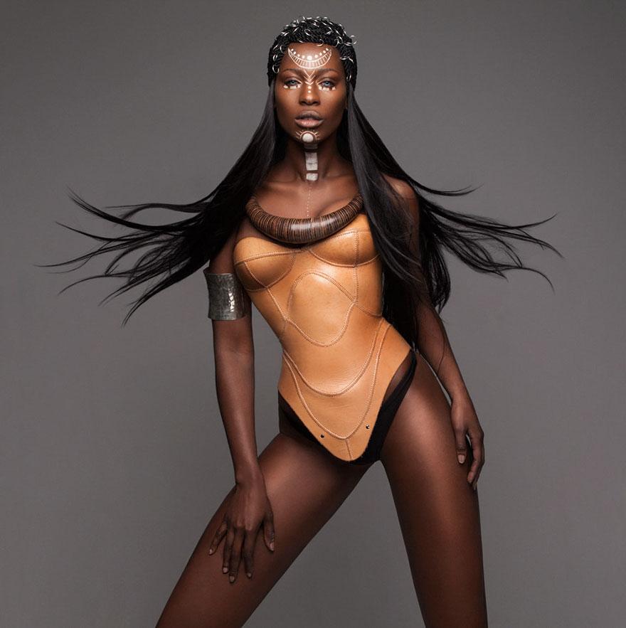 Frumusete feminina in cultura africana - Poza 9