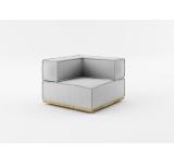 Element modular de colt NOi Grey/Natural