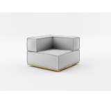 Element modular de colt NOi Grey/Natural