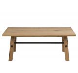 Masa de cafea din lemn si furnir Stockholm, L117xl58xh46 cm