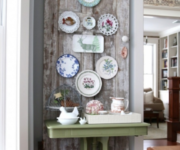 Idei de decoratiuni vintage facute manual