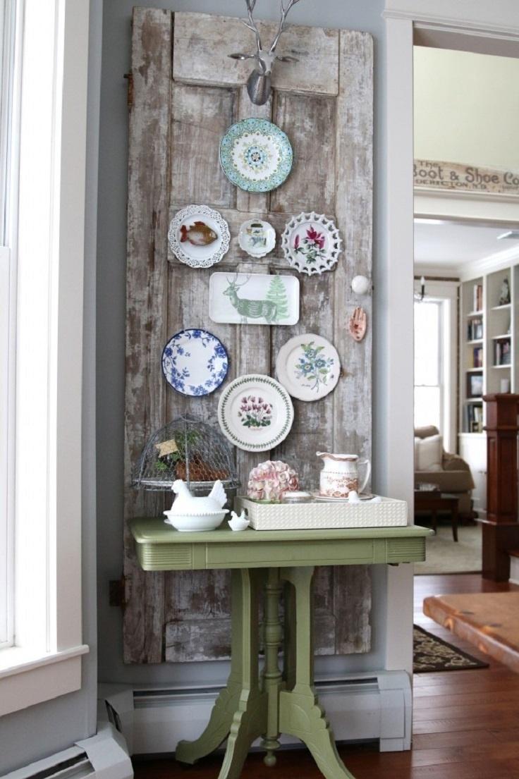 Idei de decoratiuni vintage facute manual - Poza 1