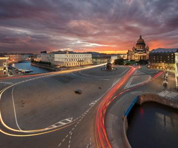 O noapte la Sankt Petersburg, cu Serg Degtyarev