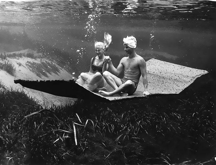 Fotografii subacvatice de exceptie, din 1938 - Poza 14