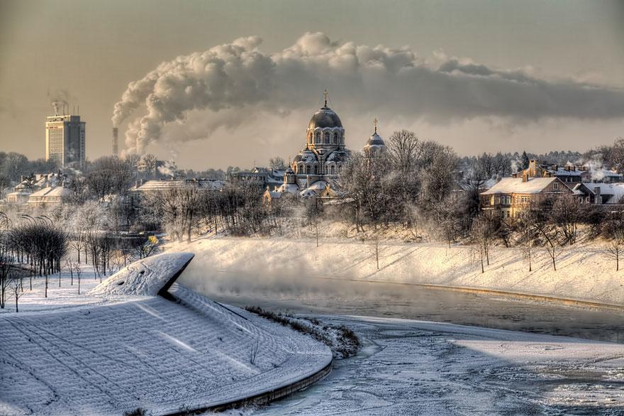 Cele mai frumoase peisaje de iarna - Poza 18