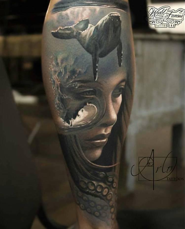 Tatuaje impresionante suprarealiste, de Alro DiCristina - Poza 7