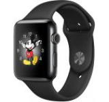 Smartwatch Apple Watch 2 Sport, Retina OLED Capacitive touchscreen 1.65inch, Bluetooth, Wi-Fi, Bratara Silicon 42mm, Carcasa Aluminiu, Rezistent la apa si praf (Negru)