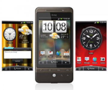 HTC Hero: Flash si Android la bord