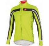 Tricou cu maneca lunga Castelli Free 3, Verde Fluo, Masura S (Verde)