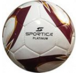 Minge de fotbal Sportica PLATINUM (Alb cu Visiniu)