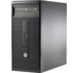 Sistem PC HP 280 G1 MicroTower (Procesor Intel® Core™ i3-4160 (3M Cache, 3.60 GHz), Haswell, 4GB, 500GB @7200rpm, Win7 Pro 64 + Win8.1 Pro 64, Tastatura+Mouse)