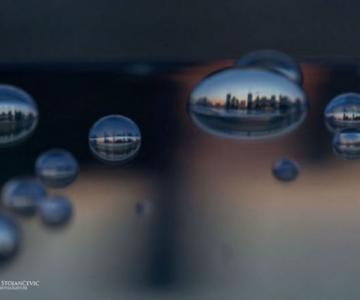 Metropolele lumii, in picaturi de apa
