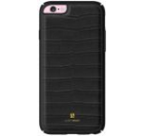 Protectie spate Just Must Croco JMCR3IPH6BK pentru Apple iPhone 6/6S (Negru)