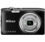 Aparat Foto Digital NIKON COOLPIX A100, Filmare HD, 20.1 MP, Zoom optic 5x (Negru)