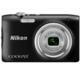 Aparat Foto Digital NIKON COOLPIX A100, Filmare HD, 20.1 MP, Zoom optic 5x (Negru)