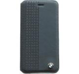 Husa Flip cover BMW Perforated BMFLBKP6PEN pentru Apple iPhone 6/6S (Negru)