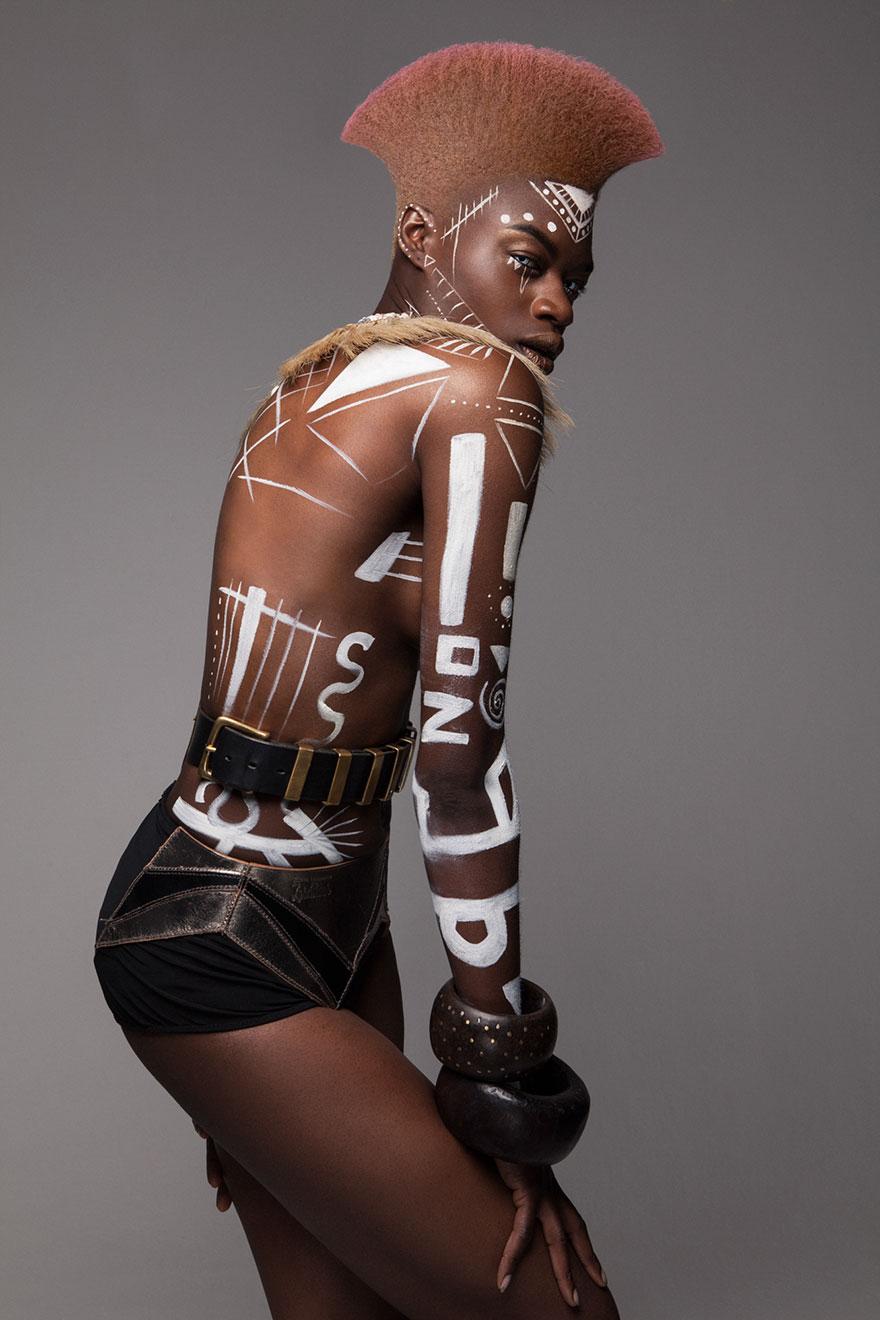 Frumusete feminina in cultura africana - Poza 16