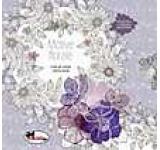 Motive florale - Carte de colorat pentru adulti
