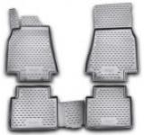 Set Covorase Auto NOVLINE NVFMEBL4010, fata/spate, 4 buc., tip tava, dedicate MERCEDES-BENZ B-Class T245, 2005-> (Negru)