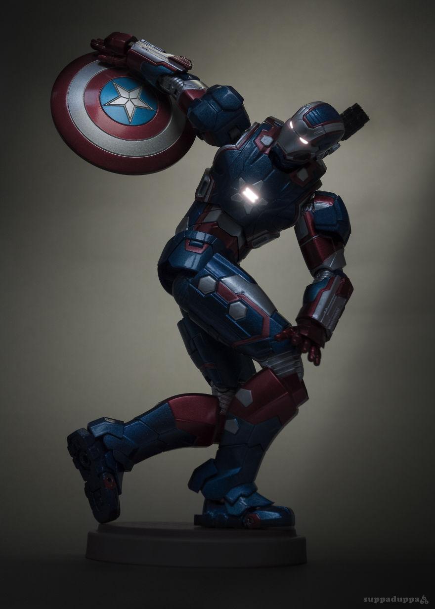 Istoria artei cu supereroi Marvel - Poza 3
