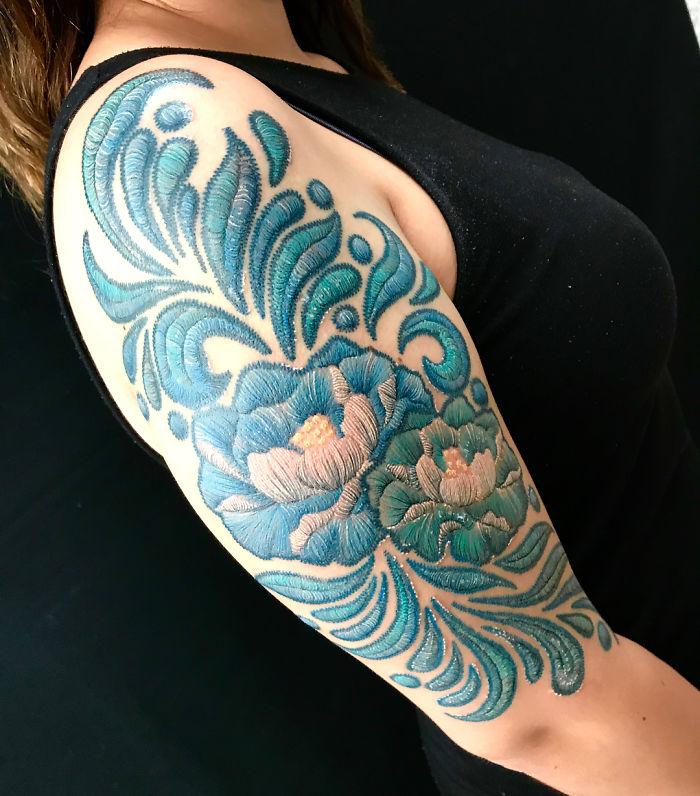 Broderie permanenta pe piele: Noua moda de a te tatua in 2019 - Poza 2