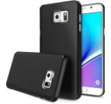 Protectie spate Ringke Slim SF 170932, folie protectie inclusa pentru Samsung Galaxy Note 5 (Negru)