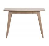 Masa de birou din lemn si furnir Woodstock, L105xl45xh74 cm
