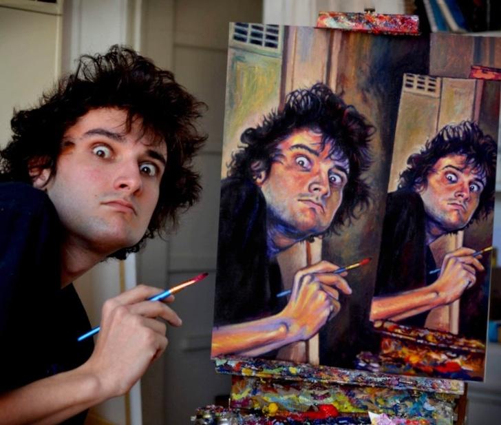 Creatii ale pictorilor amatori demne de a fi expuse in marile muzee - Poza 10
