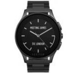 Smartwatch Vector Luna Uni L1-10-006, Bluetooth, Bratara metalica, Rezistent la apa si praf (Negru)