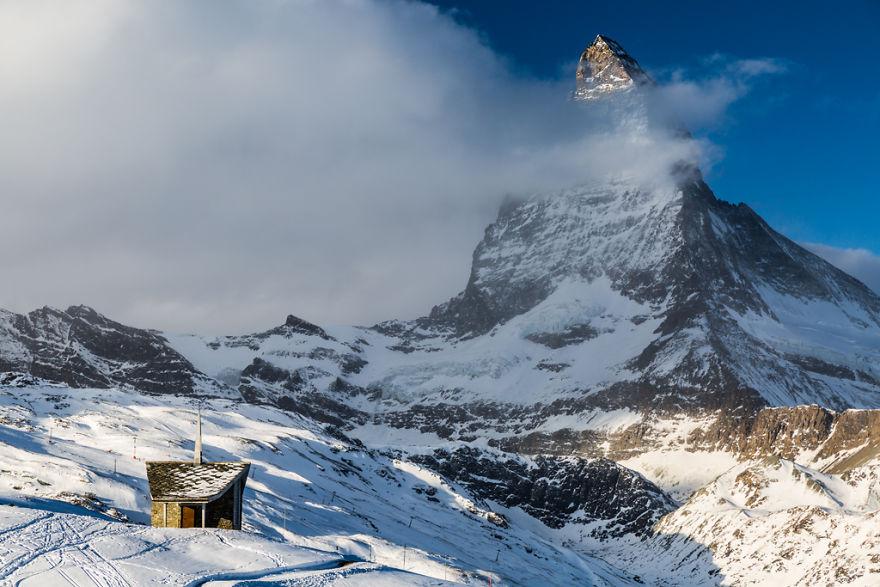 Maretia Alpilor pe timp de iarna - Poza 9