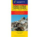 Harta rutiera - Turcia Cipru Riviera turceasca