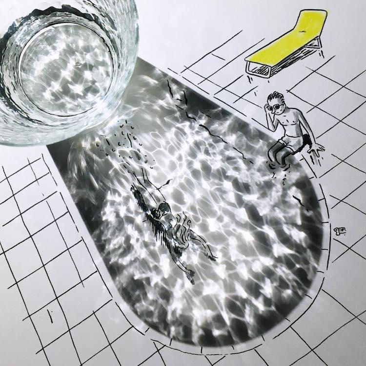 Umbre reinsufletite, in ilustratii haioase - Poza 15