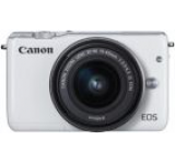 Aparat Foto Digital Canon Eos M10 15-45 kit, 18 MP, Filmare Full HD (Alb)