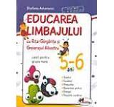 Educarea limbajului cu Rita Gargarita si Greierasul Albastru. Caiet pentru grupa mare 5-6 ani