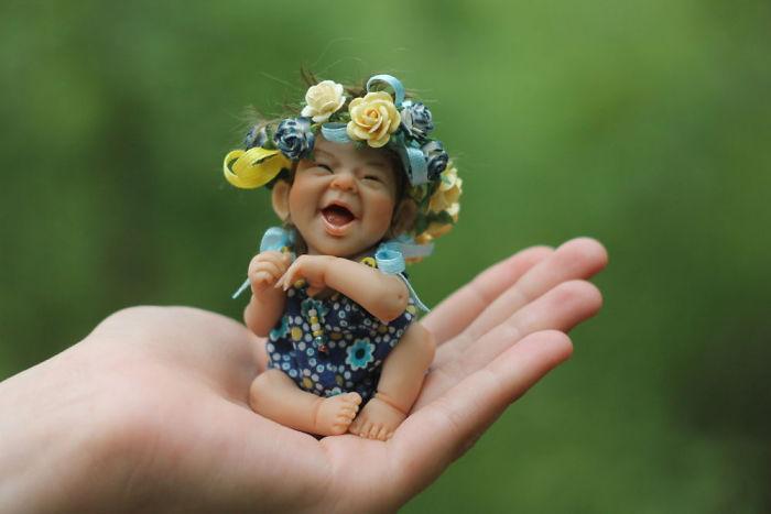 Papusi realiste superbe, de Elena Kirilenko - Poza 17