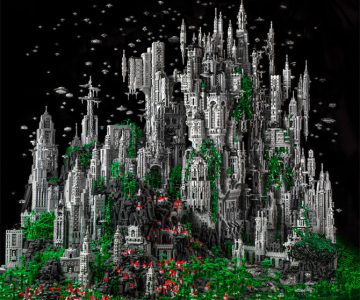 200.000 de piese LEGO pentru un castel SF