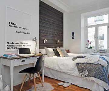 Doua camere de lectura in Suedia