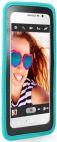 Husa protectie SBS Handy Case TEHANDYXLB, cu suport pentru mana, pentru telefoane pana la 5 inch (Albastru)
