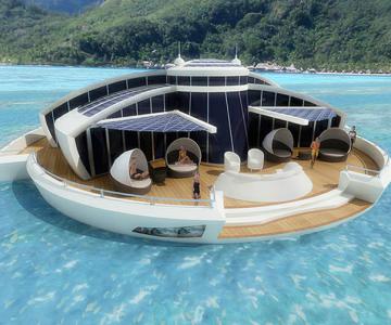Incredibila insula plutitoare, de la MPD Designs