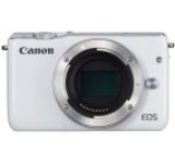 Aparat Foto Digital Canon Eos M10 Body, 18 MP, Filmare Full HD (Alb)