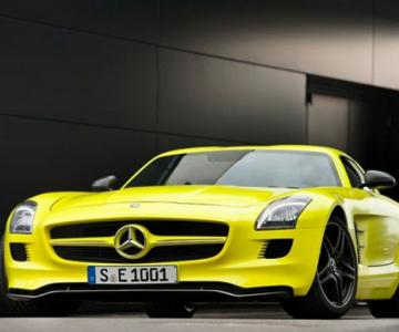 Prototipul Mercedes-Benz SLS AMG E-Cell