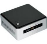 Barebone Intel NUC (Next Unit of Computing) 5I3MYHE (Procesor Intel® Core™ i3-5010U (3M Cache, 2.10 GHz), Broadwell, No RAM, No HDD, suport 2.5inch HDD/SSD si M.2 SSD, Intel® HD Graphics 5500, 4K, 2xMini DisplayPort, No Wireless Card)