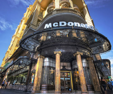 10 altfel de restaurante McDonalds