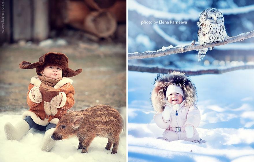 Melancolia iernilor din copilarie, in poze superbe - Poza 11