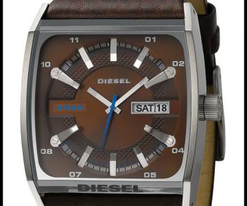 DIESEL Cushion Watch